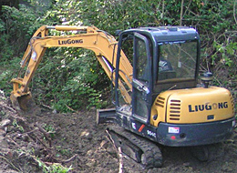 Sycons Kft. - KMOP subsidy - LIUGONG CLG 904C type excavator with rubber tracks